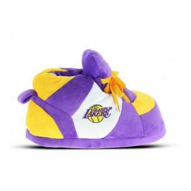 Los angeles lakers heren sneaker pantoffels
