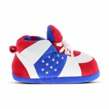 Patriots jongens sneaker pantoffels